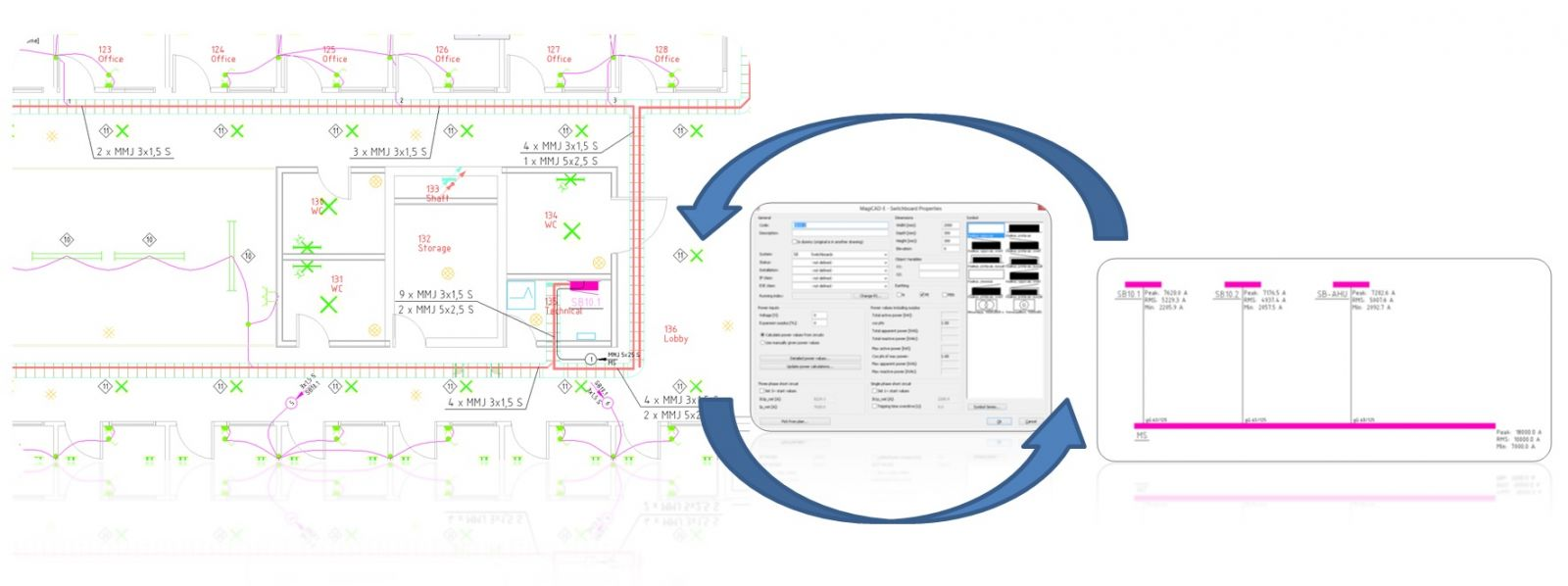 Electrical Design In 2d And 3d Using Magicad For Revit Autocad Wire Schematics Dummies