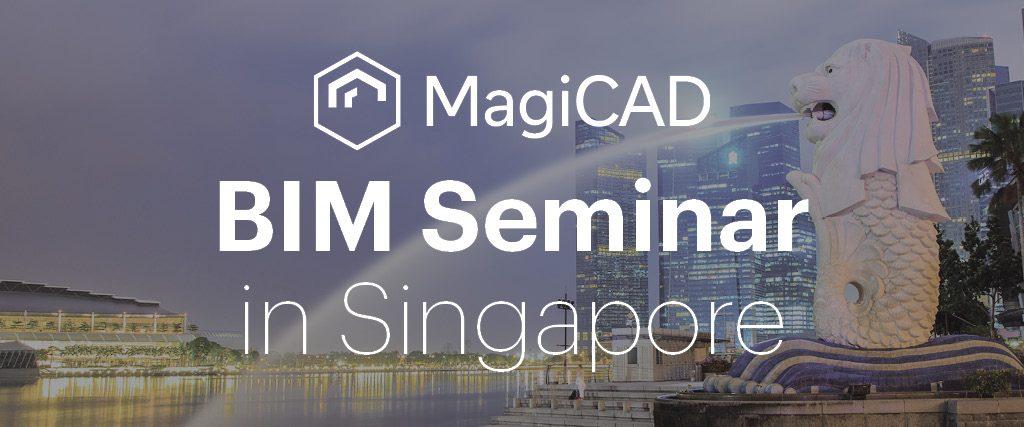 MagiCAD BIM Seminar Singapore September 2017 Blog Banner