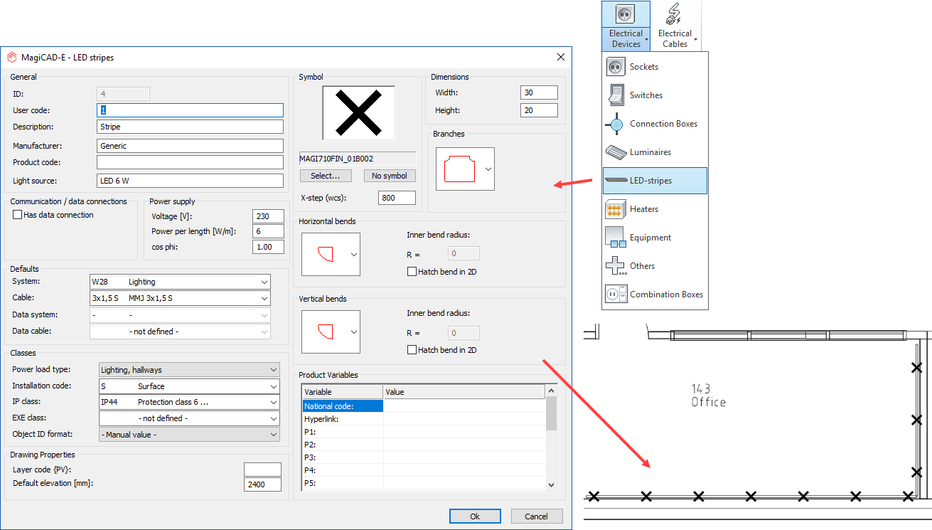 New Features Magicad 2018 Ur 3 For Autocad Piping Diagram Symbols 2 Calculate The Time To Reach Hot Water Design Temperature