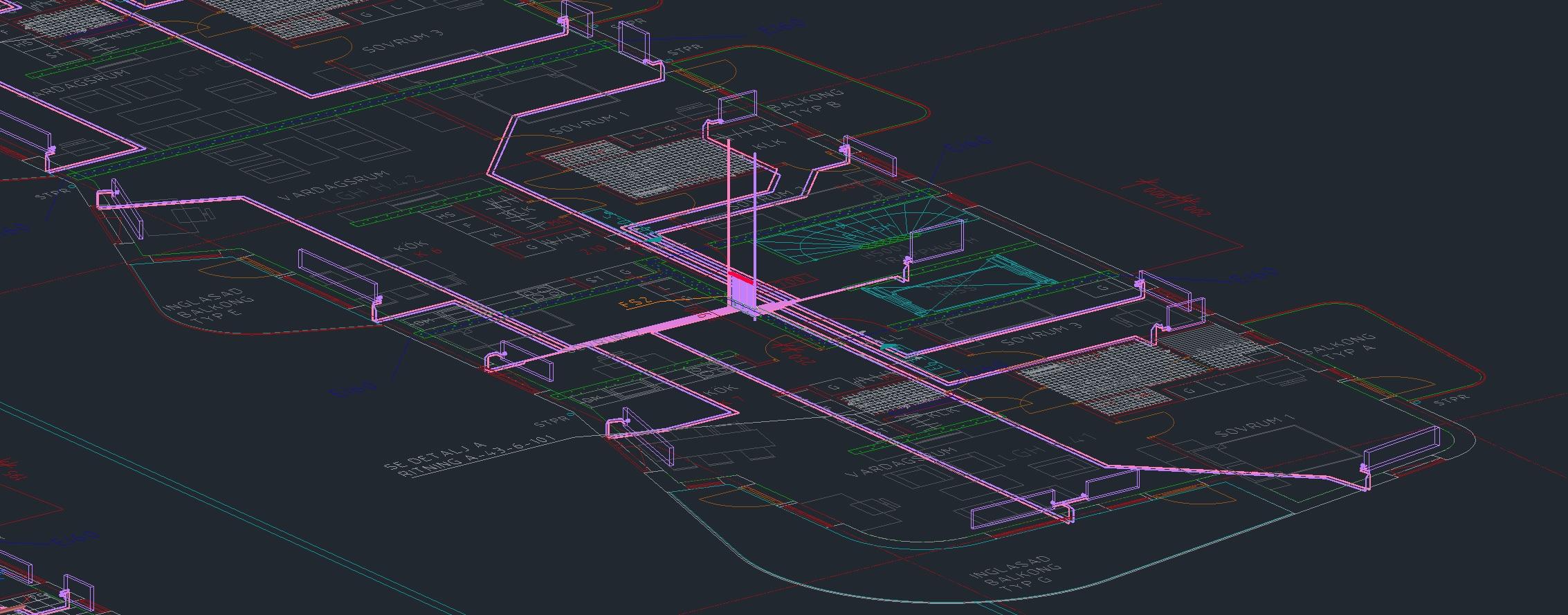 """""""MagiCAD underlättar många rutinmässiga designuppgifter, till exempel kollisionskontroll och flödesberäkningar."""""""