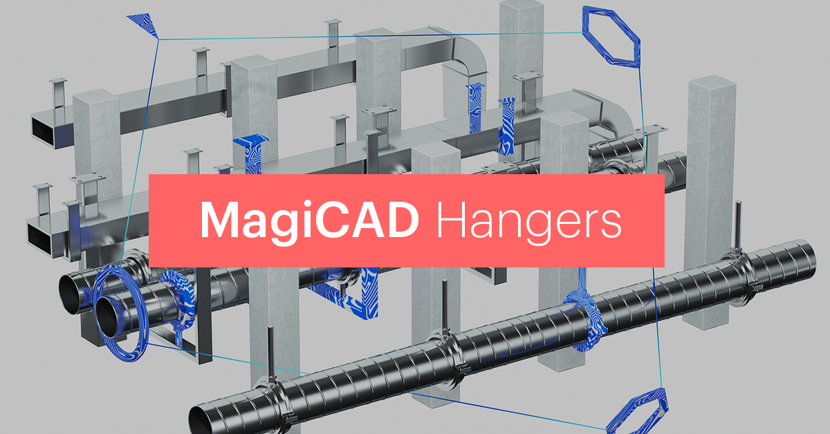 MagiCAD Supports & Hangers for Revit
