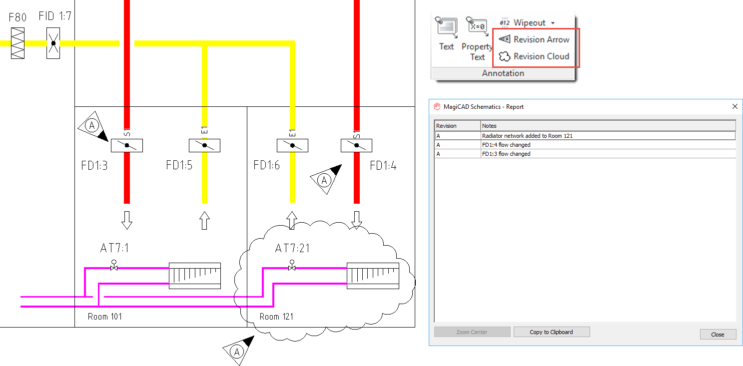 New Features Magicad 2019 Ur 1 For Autocad Process Flow Diagram Dwg 12 Verify Sprinkler System Coverage And Operation Areas