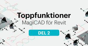 Spread sheet i MagiCAD för Revit