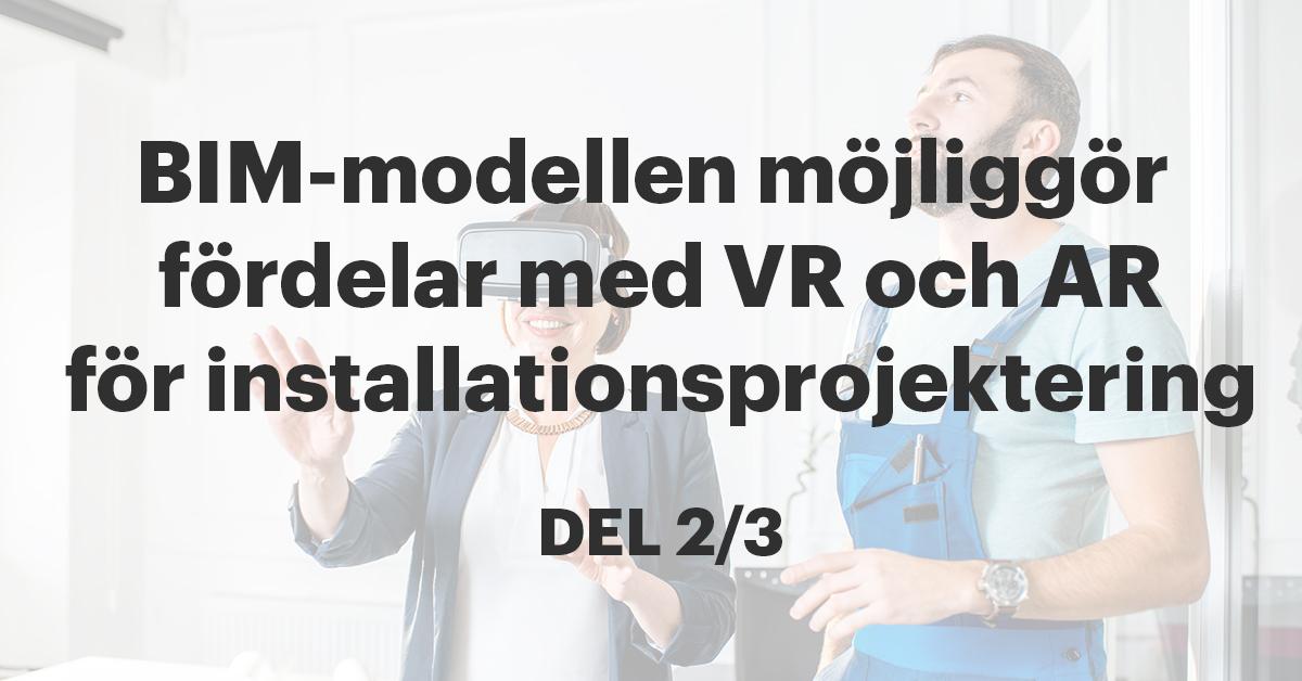Från Revit-projekt till VR