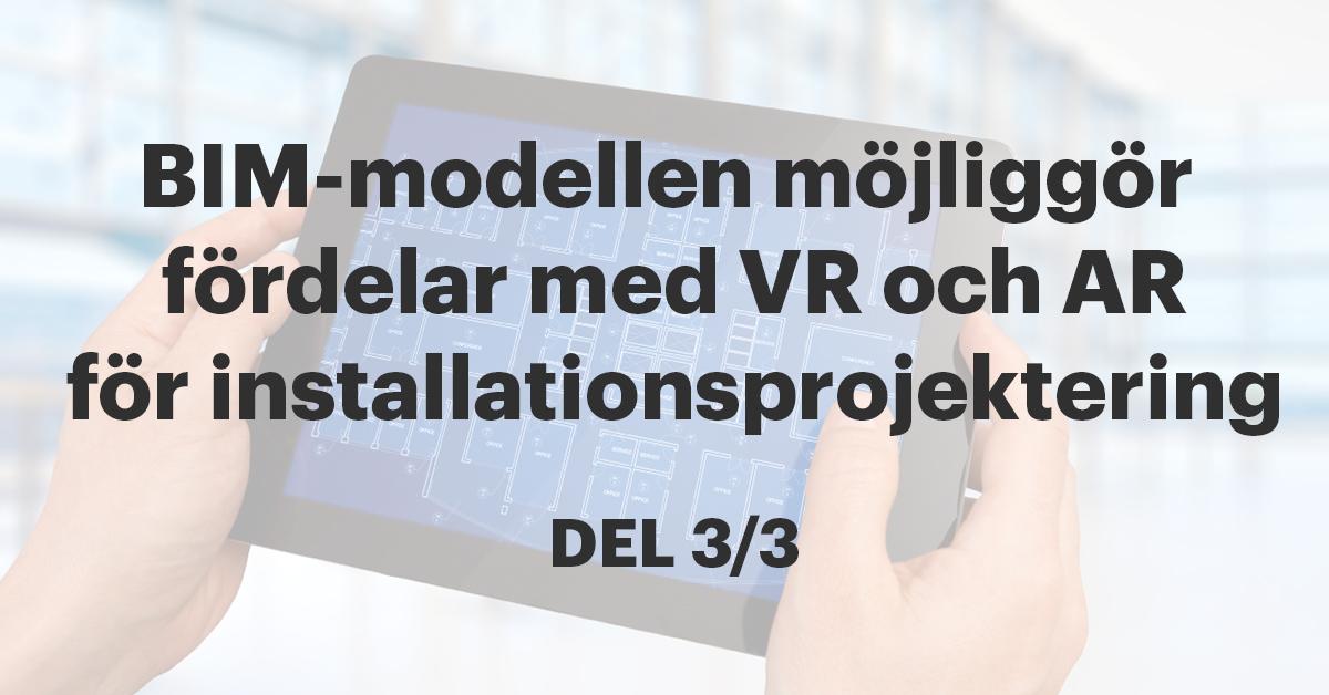 Fördelarna för installation med VR och AR