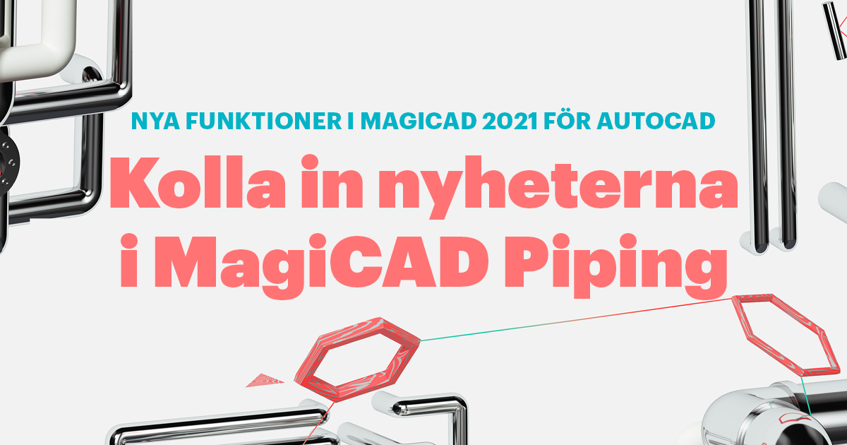 MagiCAD Piping 2021 AutoCAD