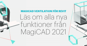 MagiCAD Ventilation för Revit 2021