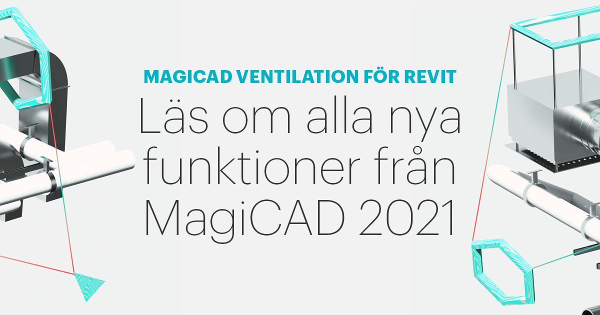 MagiCAD Ventilation för Revit 2021