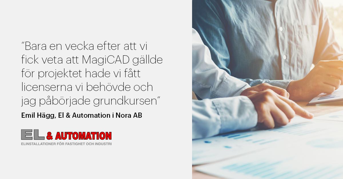 El & Automation i Nora AB