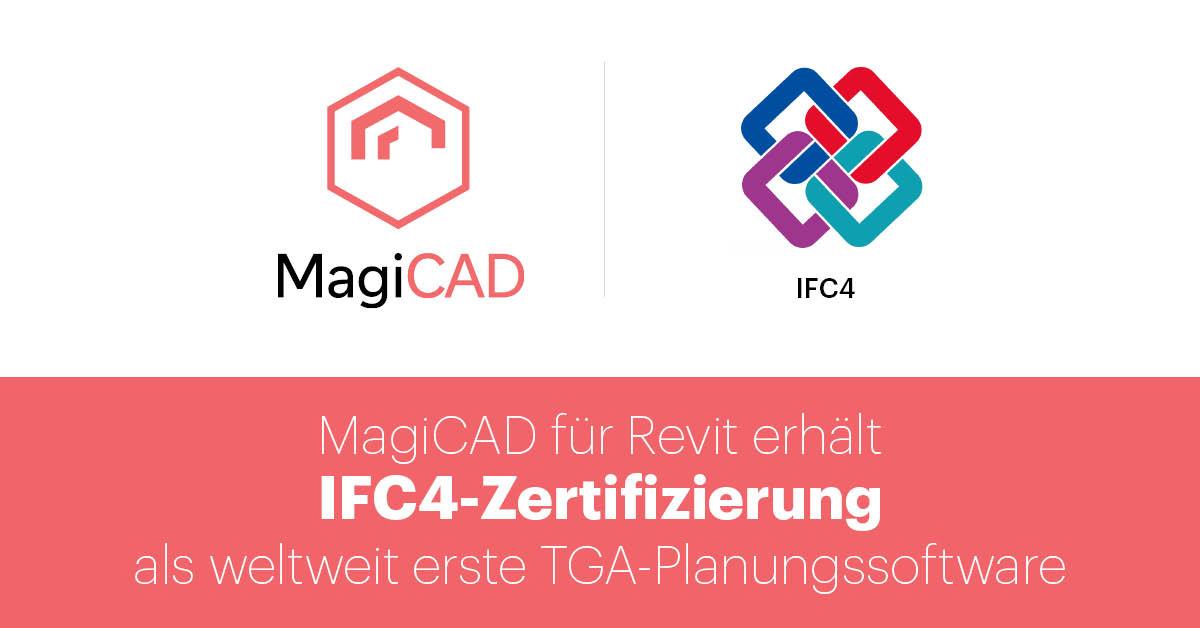 MagiCAD erhält IFC4-Zertifizierung