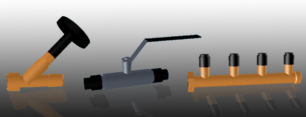 Sen avulla voidaan aikaa säästäen tehdä liitoksia teräs-, vesi-, lyijy- ja PE-putkien välille.