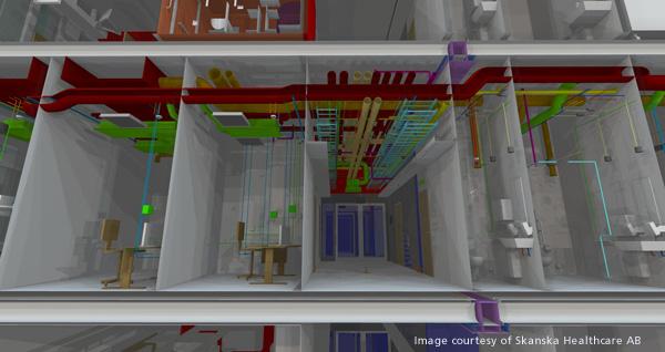 MagiCAD HVAC system Skanska